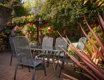 Berwick Holiday Cottage Garden